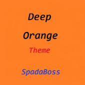 CM10 Theme DeepOrange
