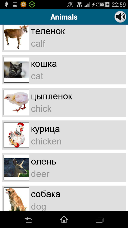Learn Russian - 50 languages - screenshot