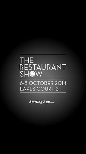 The Restaurant Show 2014