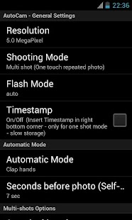AutoCam- screenshot thumbnail