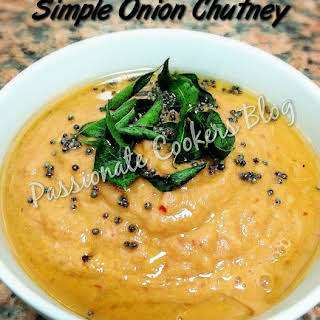 Easy Onion Chutney.