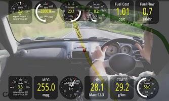 Screenshot of Track Recorder(Torque OBD/Car)
