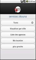 Screenshot of iServicesLocator