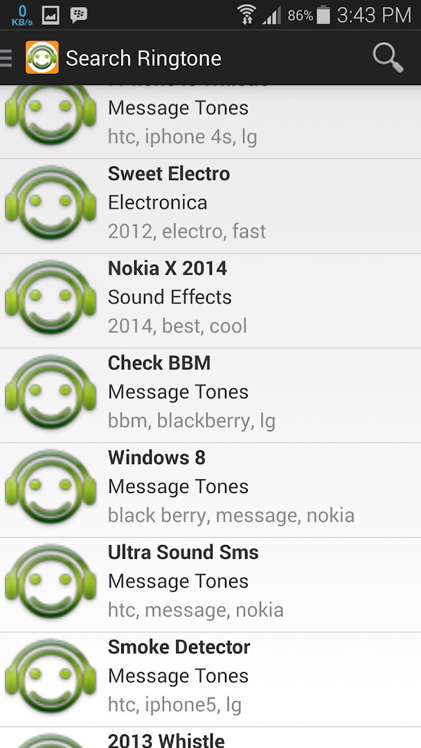 sweet whistle message ringtone download