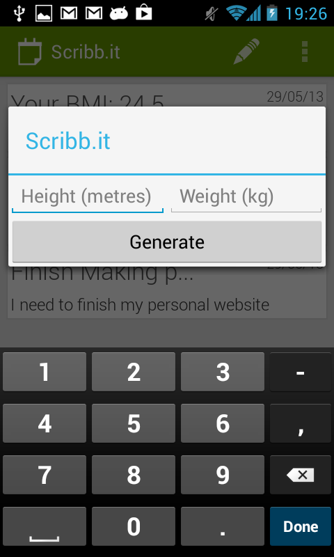Scribb.it Free - Notes - screenshot
