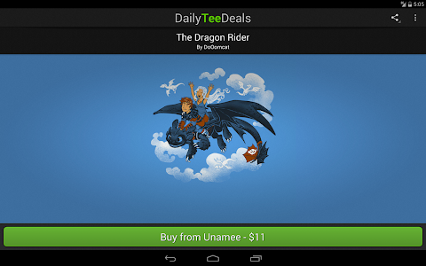 Daily Tee Deals screenshot 3