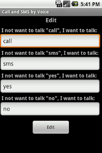 Call & SMS by Voice LITE - screenshot thumbnail