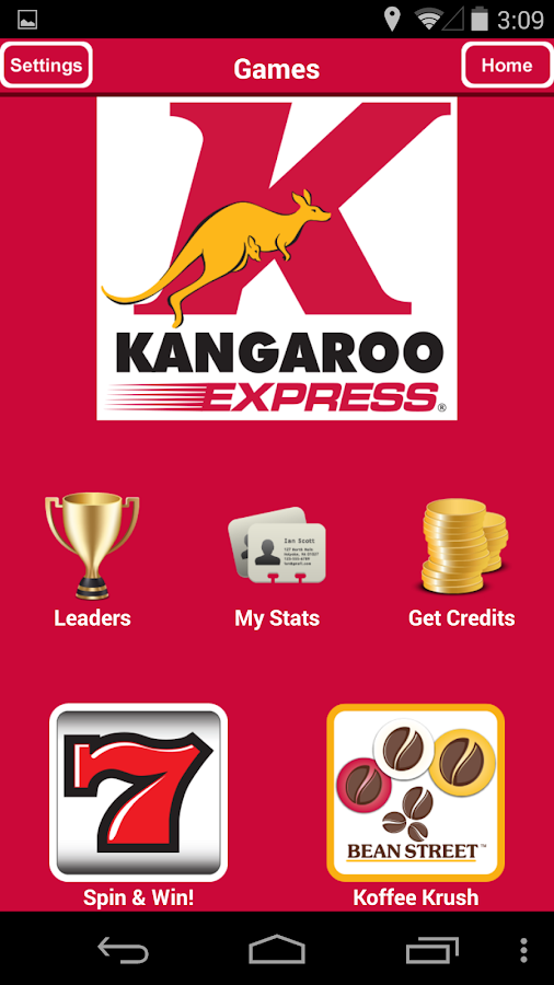 Kangaroo Express - screenshot