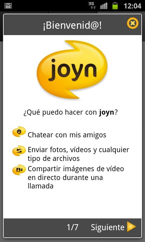 joyn - screenshot