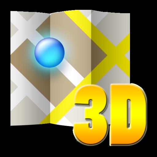 3D 地图 瑞典 旅遊 LOGO-阿達玩APP