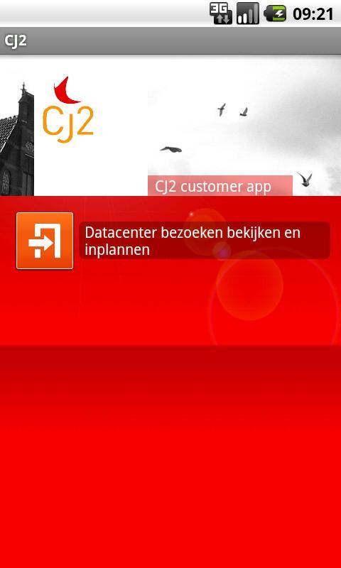 CJ2 App- screenshot