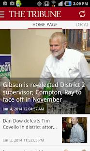 San Luis Obispo Tribune news - screenshot thumbnail