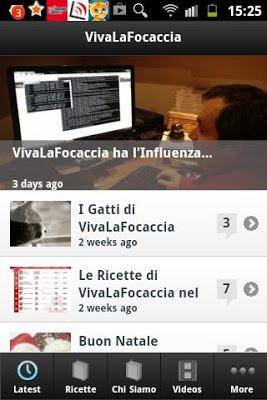 VivaLaFocaccia - screenshot