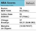 EZ Sports Scores