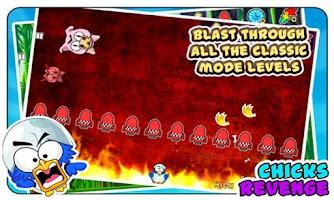 Screenshot of Chicks Revenge : Tiny Pig Kill