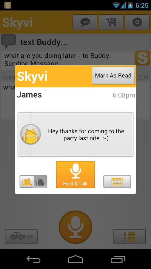 Skyvi (Siri like Assistant)- screenshot