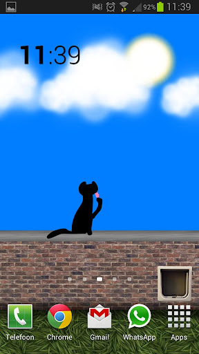 Animated Cat Live Wall Free