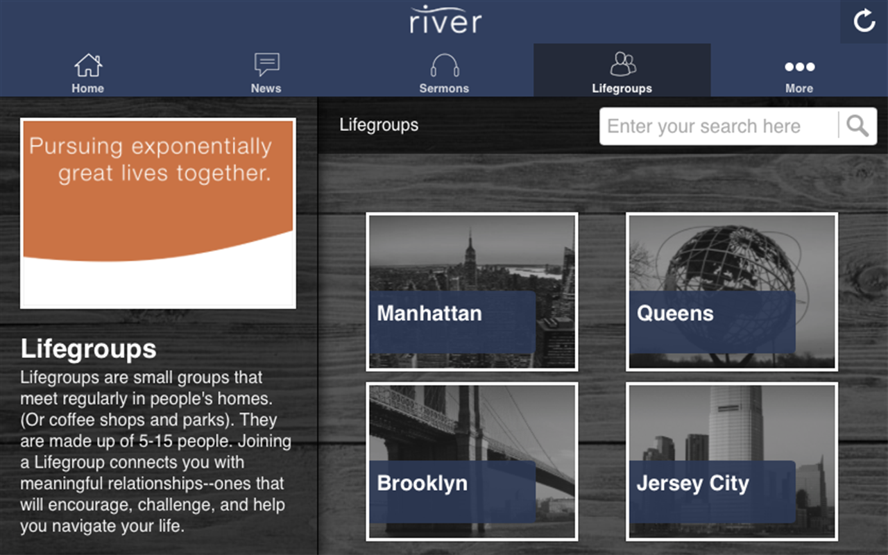 River NYC- screenshot