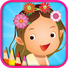 Coloring Girl - Draw & Doodle icon