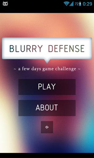 Blurry Defense FREE