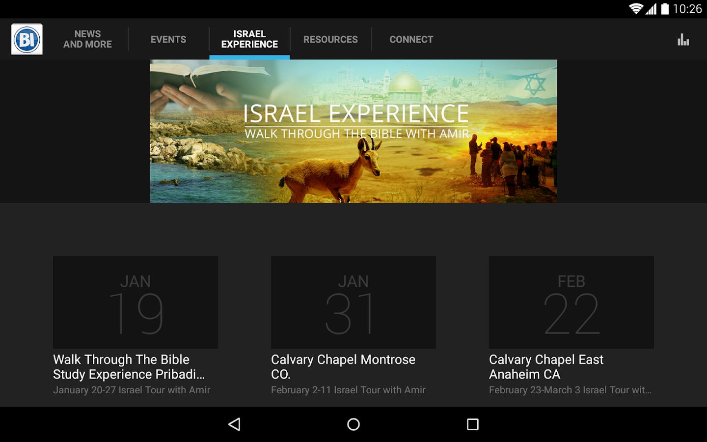 Behold Israel- screenshot