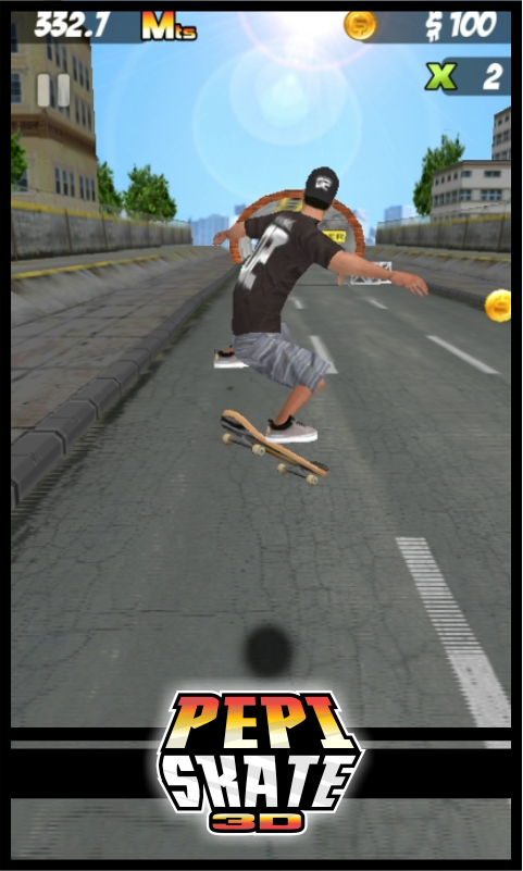 PEPI Skate 3D- screenshot