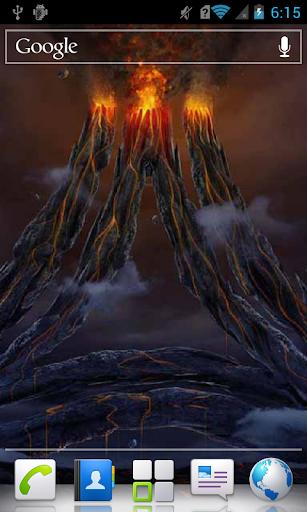 Ashy Volcano Live