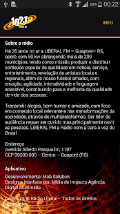 Rádio Liberal FM 102.1- screenshot thumbnail