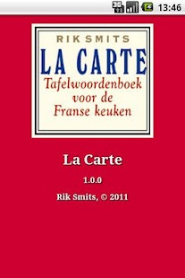 La Carte- screenshot thumbnail