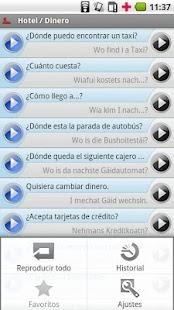 iSayHello Spanish - Bavarian- screenshot thumbnail