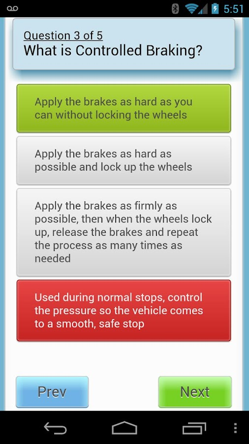 CDL Practice Test - screenshot