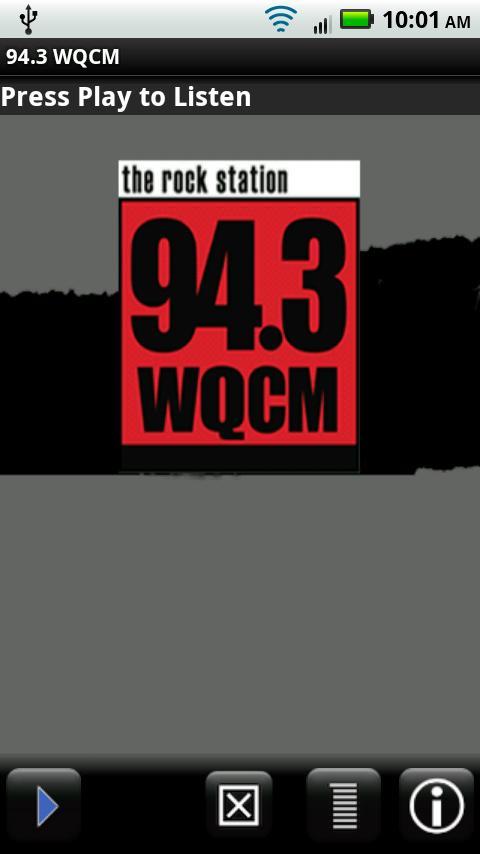 94.3 WQCM The Rock Station - screenshot
