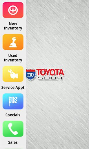 I-10 Toyota Dealer App