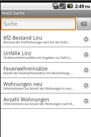 Apps4Linz-KoDZ - screenshot