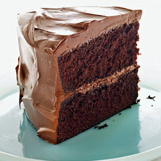 Devil's Food Cake with Milk Chocolate Frosting.