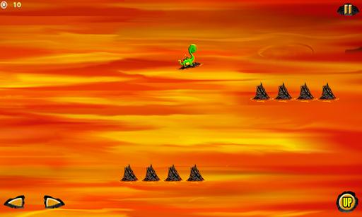 Rocking Surf Dinosaur : Lava