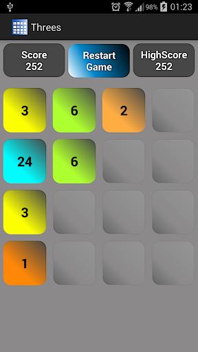 玩棋類遊戲App|クール数学のゲーム·スリー免費|APP試玩