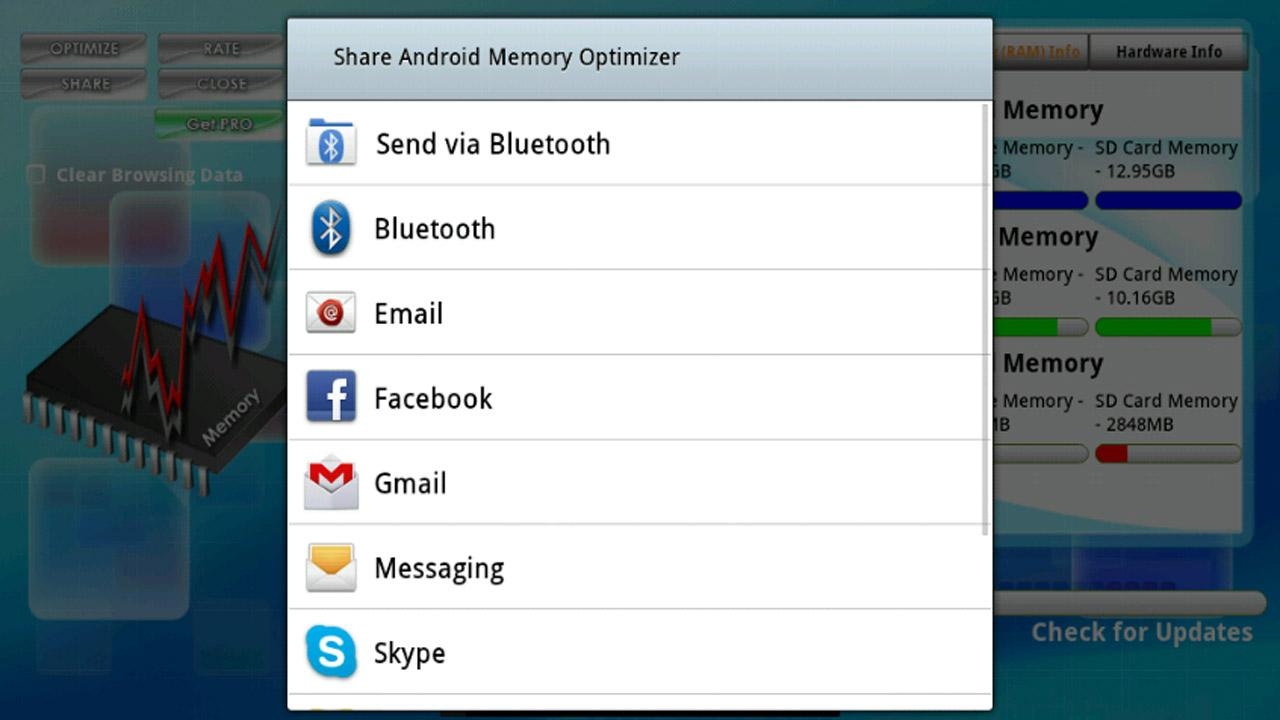Memory Optimizer Plus FREE - screenshot