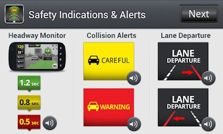iOnRoad Augmented Driving Lite Screenshot 6