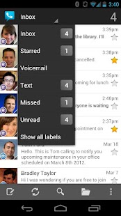 Google Voice - screenshot thumbnail