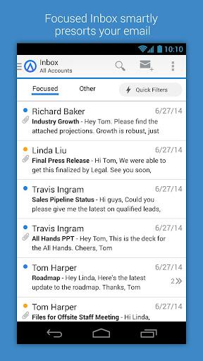 Acompli 專業電子郵件和日曆傳送