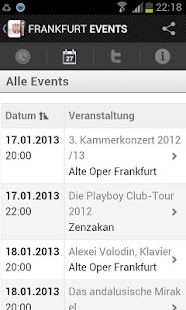 FRANKFURT EVENTS › Eventguide- screenshot thumbnail