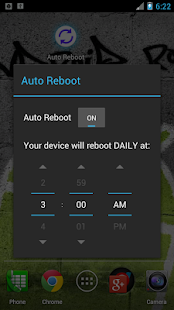 Auto Reboot Root only