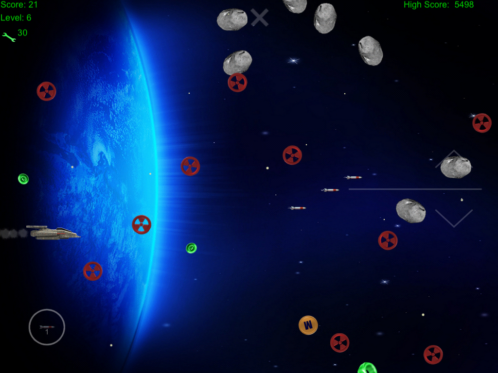 Space Junk Hunter - screenshot