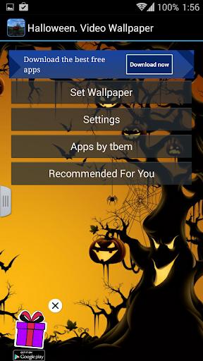 【免費個人化App】Halloween. Video Wallpaper-APP點子