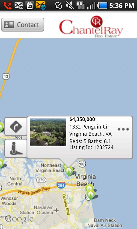 Chantel Ray Real Estate Search - screenshot