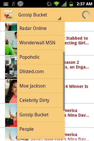 Best celebrity gossip app