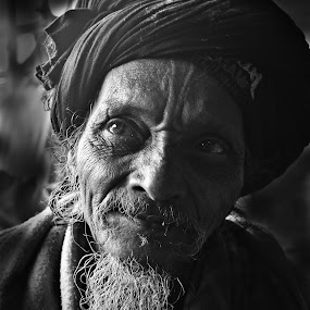 Shades of Divinity by Arnab Bhattacharyya - People Portraits of Men
