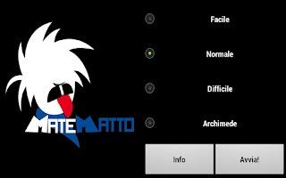 Screenshot of MateMatto