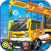 Little Crane Wash - kids Games